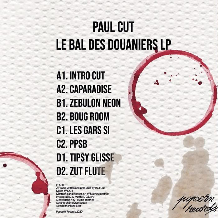 Paul Cut - Le Bal Des Douaniers LP